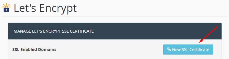 yeni ssl sertifikası