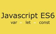 javascript var, let, const farkları